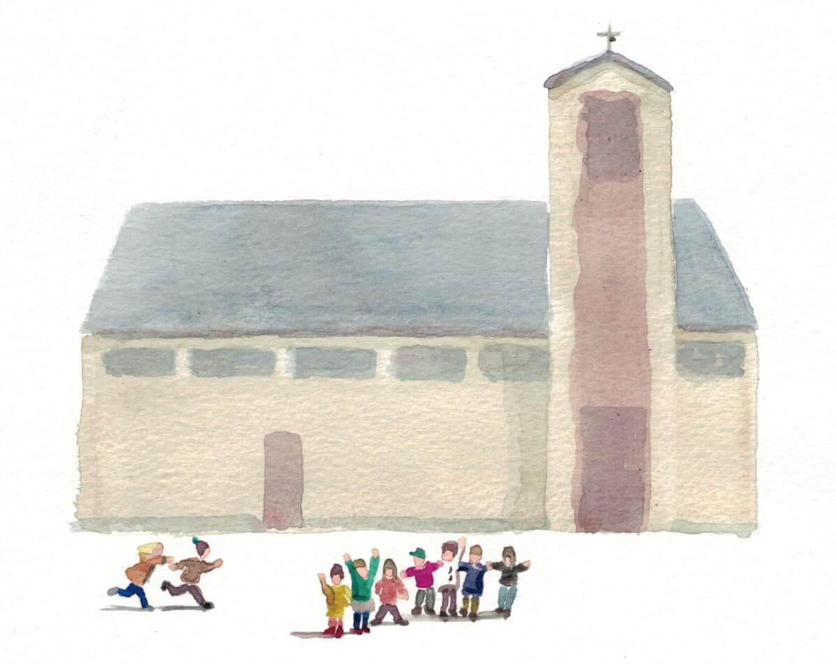 KinderKirche (Grafik: M. Raffler)