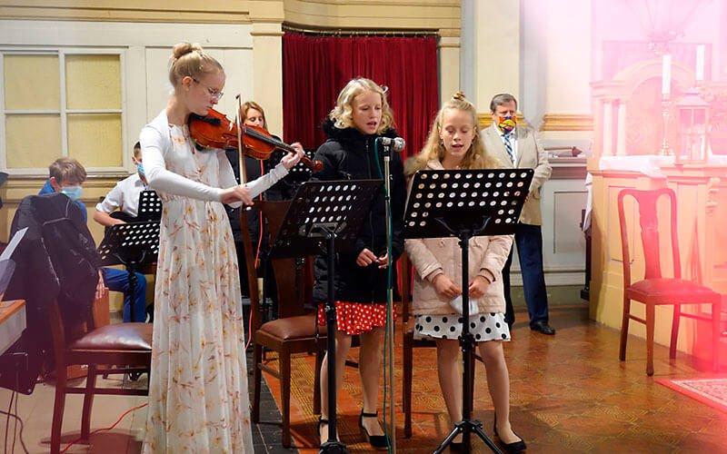 Musik zur Familienmesse in Taucha