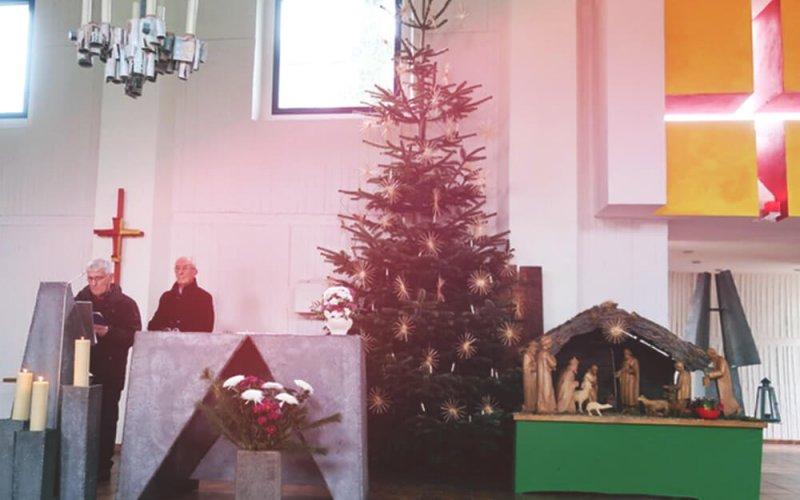 Weihnachten Hl. Familie Schönefeld