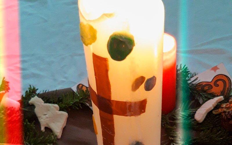 Unsere Kerze, Foto: Kornelia Pielok