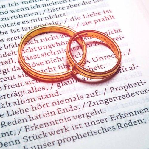Das Hohelied der Liebe, 1 Korinther, 13, Foto: Friefbert Simon, Pfarrbriefservice