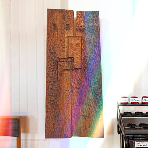 Die Heilige Familie gestaltet von Friedrich Press, Foto: Jakob Gleisberg