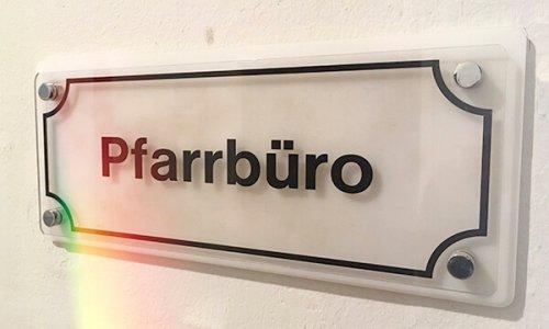 Pfarrbüro, Foto: Jakob Gleisberg
